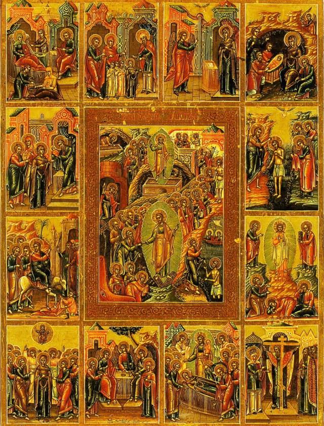 12 feast days