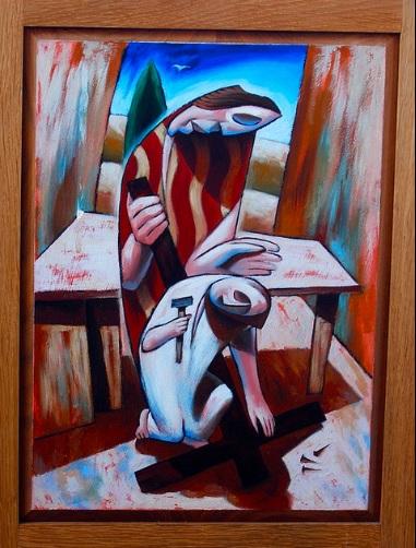 Jesus in the Workshop of Joseph