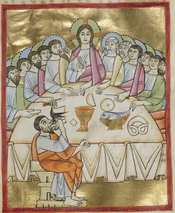 Pretzel at the Last Supper