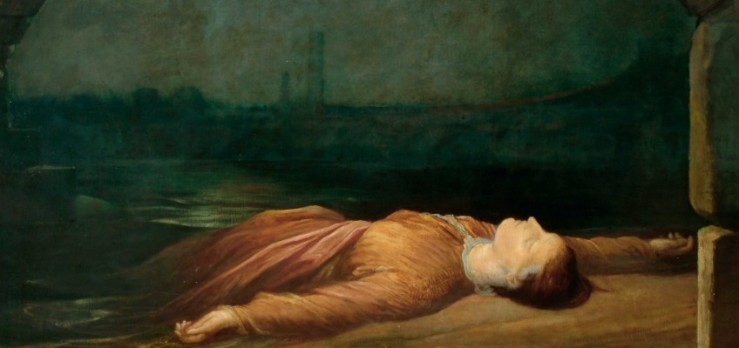 Found Drowned by G. F. Watts