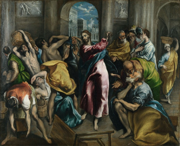 El Greco_Christ Driving the Money Changers from the Temple
