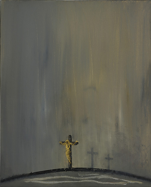 Good Friday by Maggi Hambling
