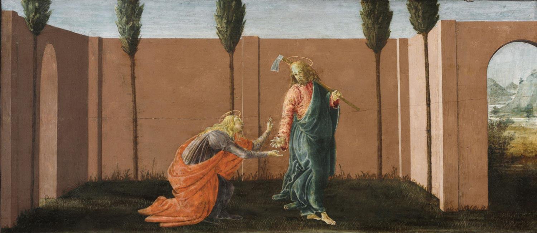 Noli me tangere by Sandro Botticelli