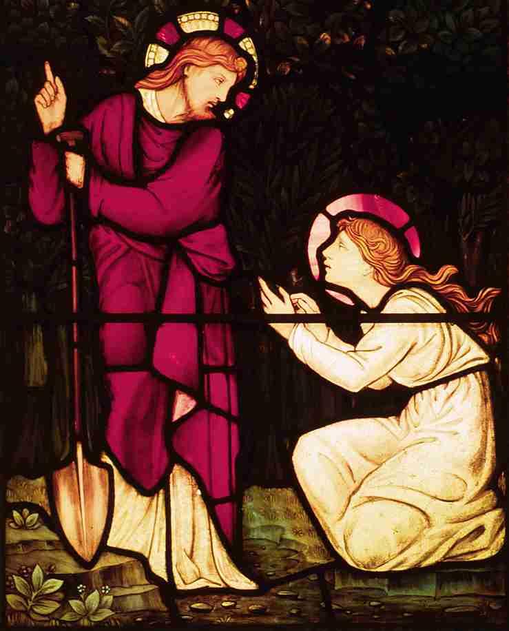 Noli me tangere by Edward Burne-Jones