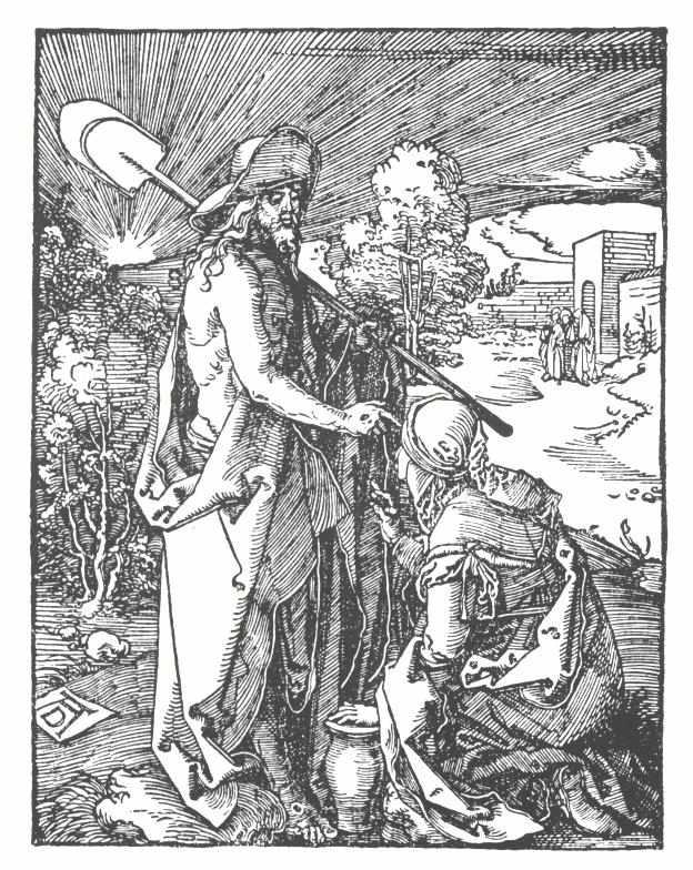 Noli me tangere by Albrecht Durer