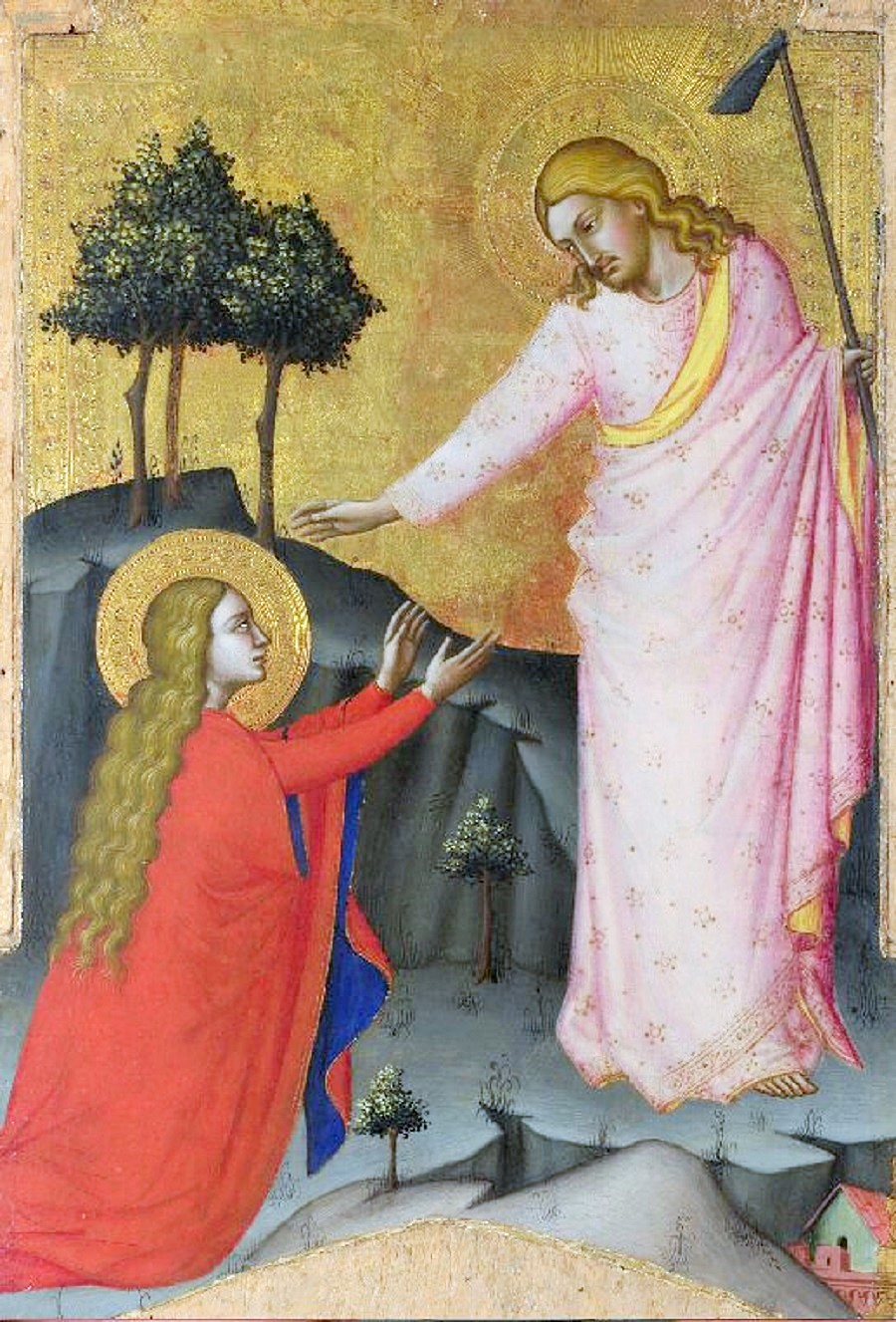 Noli me tangere by Jacopo di Cione