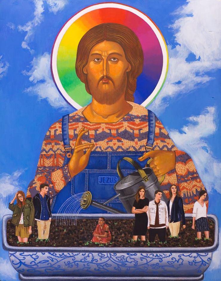 Kohut, Wlodzimierz_Jesus the Good Gardener