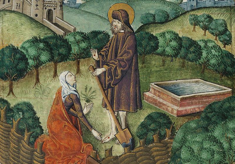 Jesus as Gardener (cca. 1503)