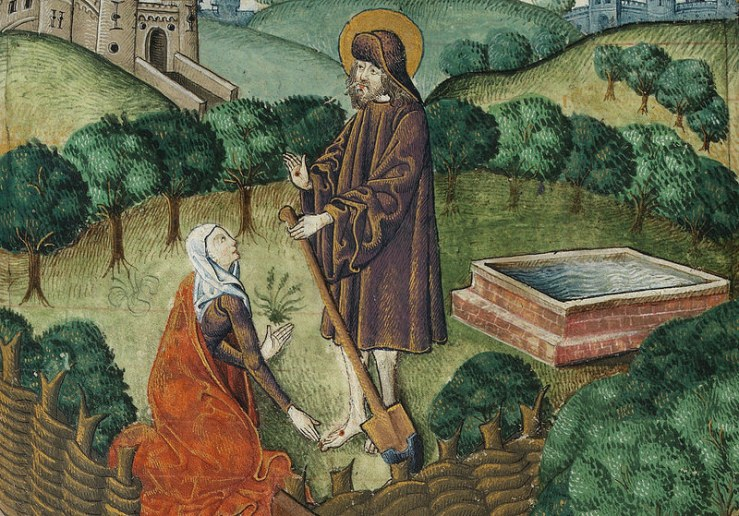Jesus as Gardener (cca. 1503)