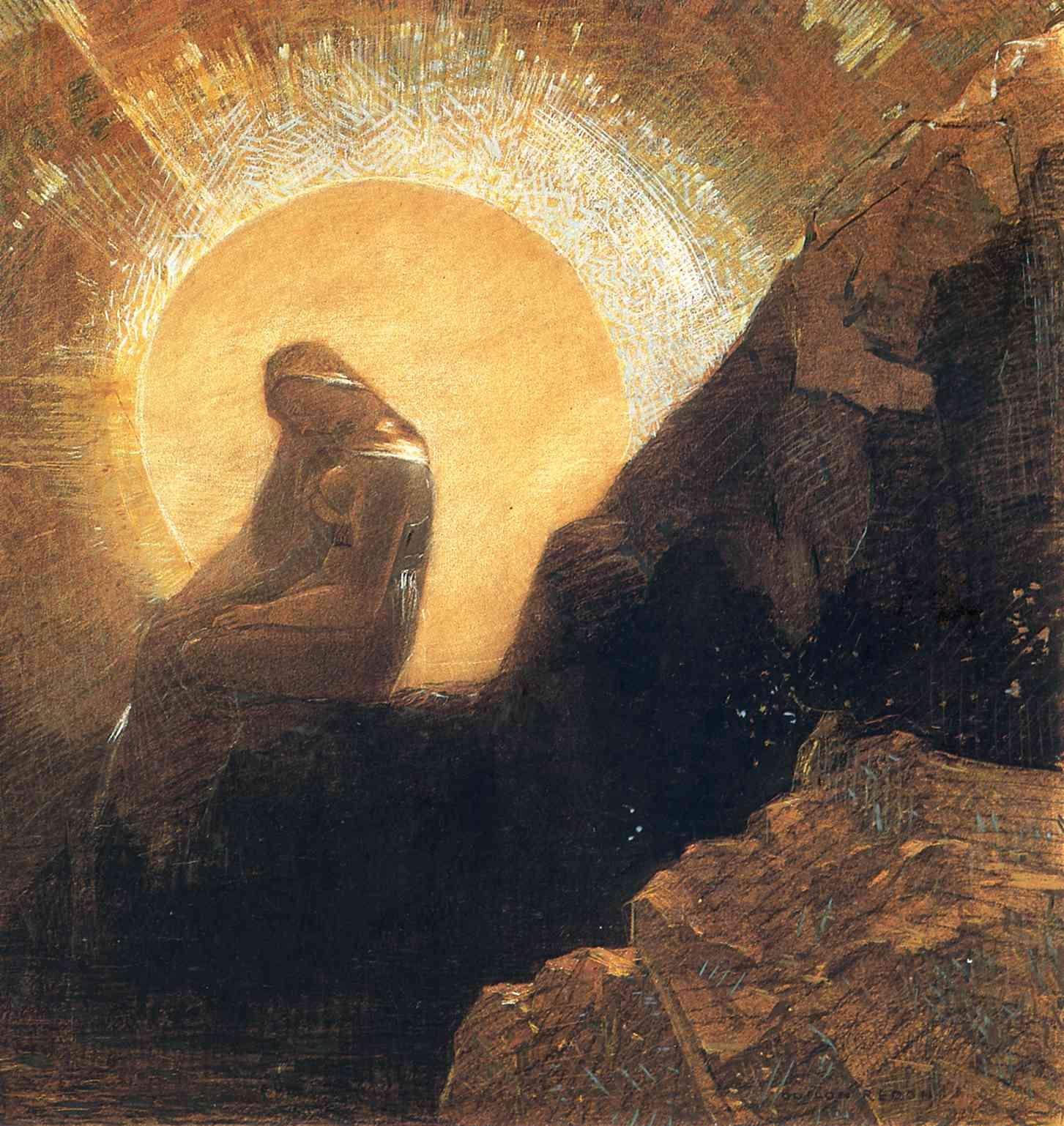 Melancholy by Odilon Redon