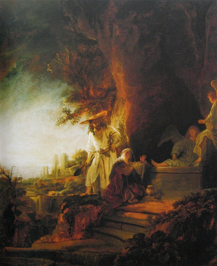 Noli me tangere by Rembrandt