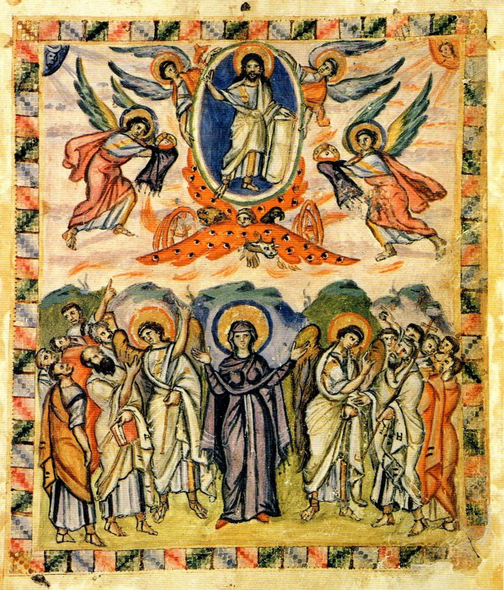 Ascension (Rabbula Gospels)