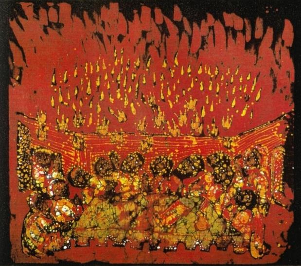 Pentecost by Solomon Raj