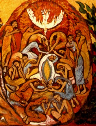 Pentecost by Jyoti Sahi