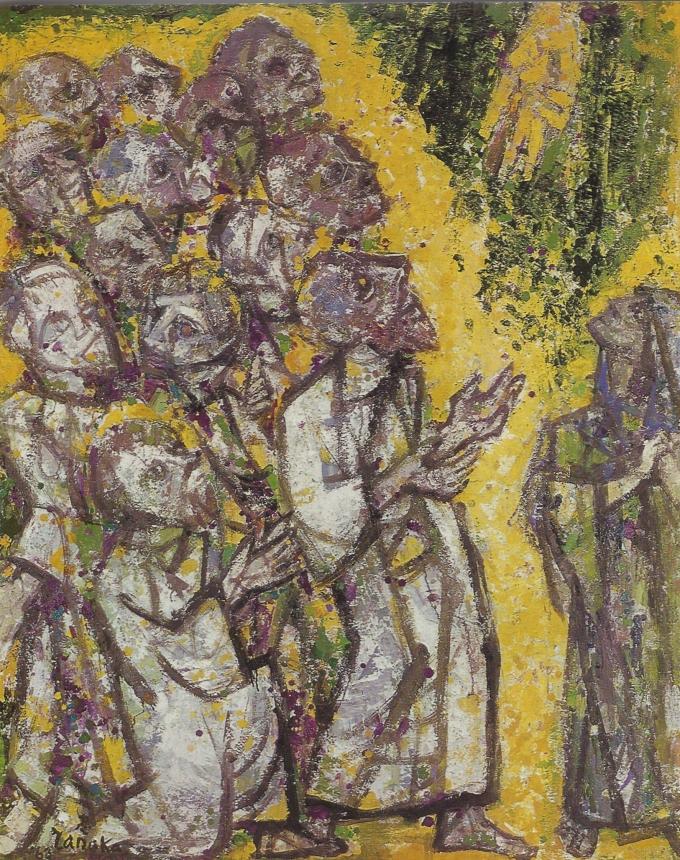 Pentecost by Tadao Tanaka