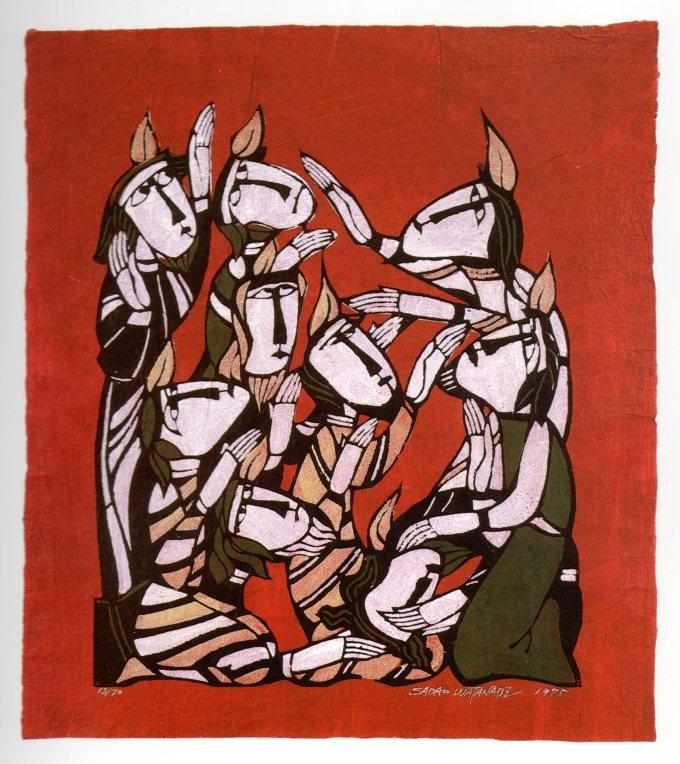 Pentecost by Sadao Watanabe