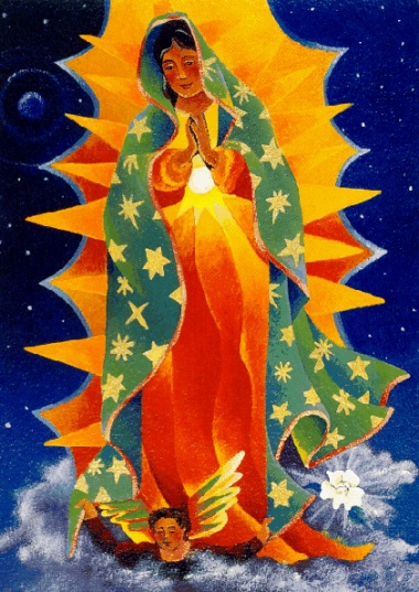 Our Lady of Guadalupe by Mickey McGrath