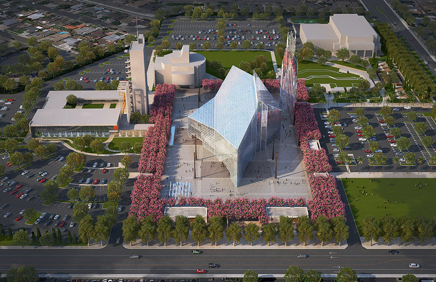 Crystal Cathedral renovations