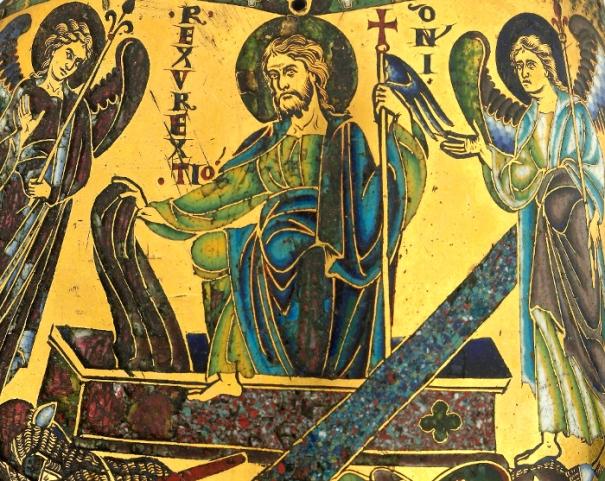 Resurrection enamel (12th century)