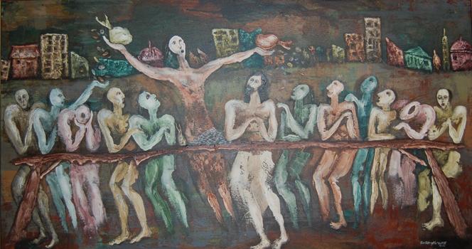 Zacchaeus by Wisnu Sasongko