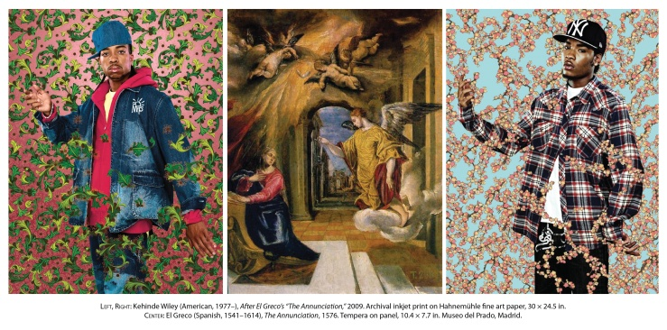 Annunciation by Kehinde Wiley