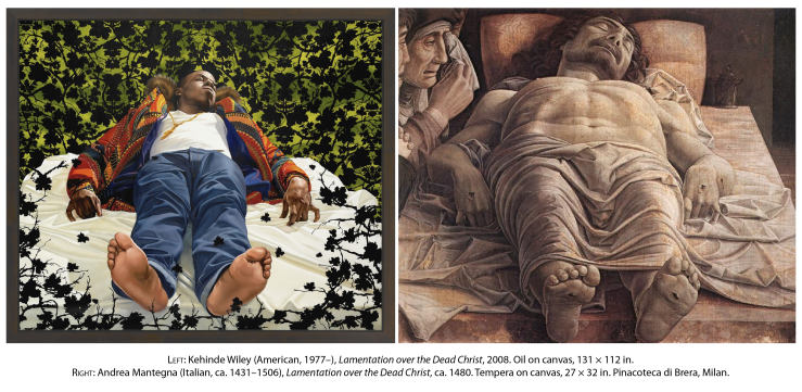 Lamentation (Kehinde Wiley)-01