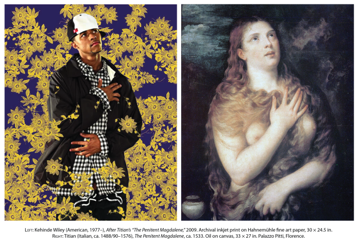 Penitent Magdalene by Kehinde Wiley