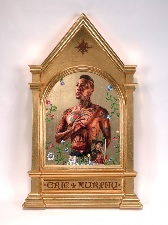 Saint Gregory Palamas by Kehinde Wiley