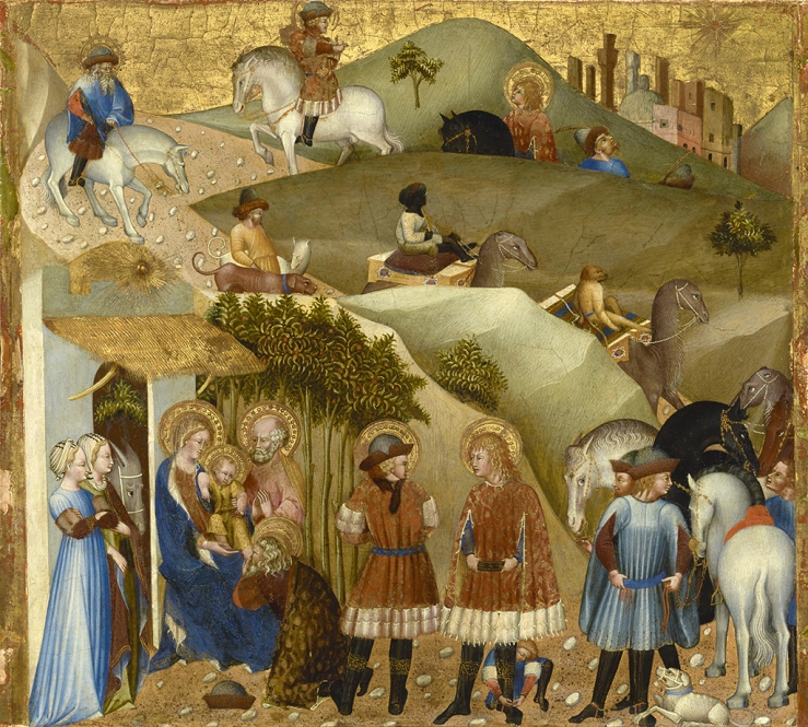 Adoration of the Magi by Giovanni di Paolo