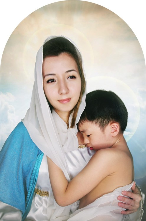 Madonna and Child by Eugene Soh