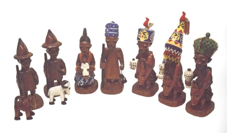 Yoruba Nativity by Joseph Agbana