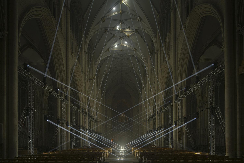 Light Masonry by Jason Bruges