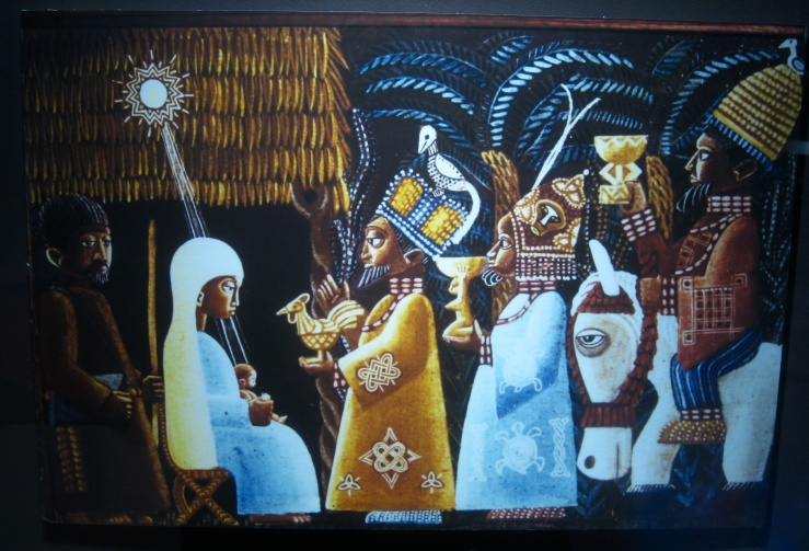Yoruba Nativity by Kevin Carroll