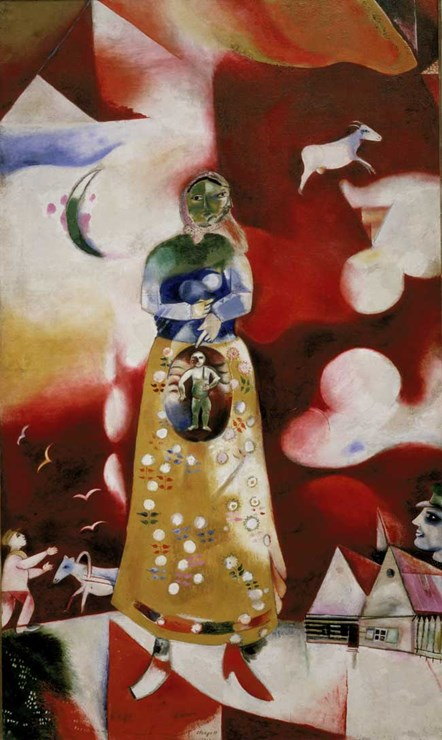 The Pregnant Woman by Marc Chagall