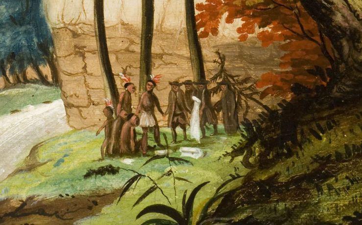 Penn's treaty (detail)