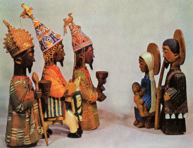 Yoruba Nativity by Oye-Ekiti workshop