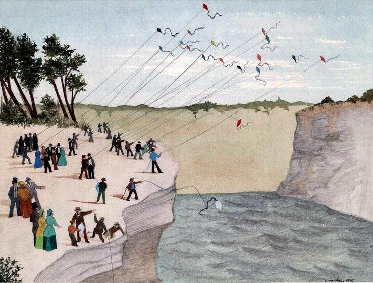 Niagara kite-flying contest