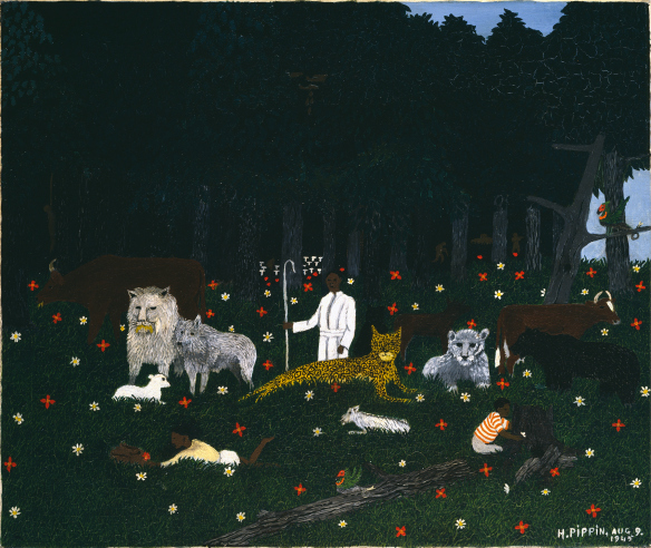 Holy Mountain III by Horace Pippin