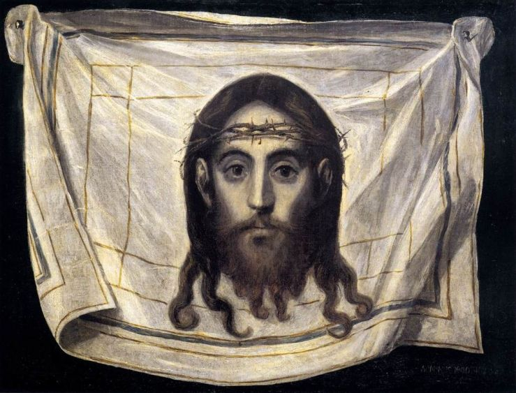 Veil of Veronica by El Greco