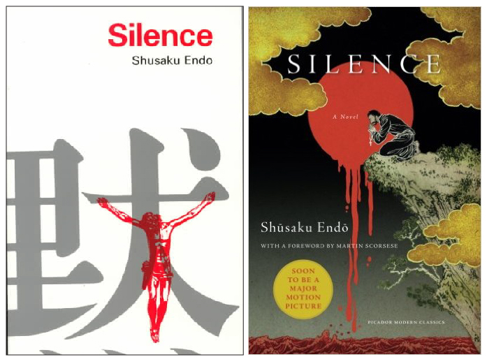 Silence book covers