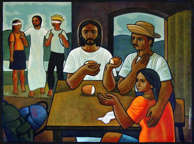 Emmaus by Maximino Cerezo Barredo