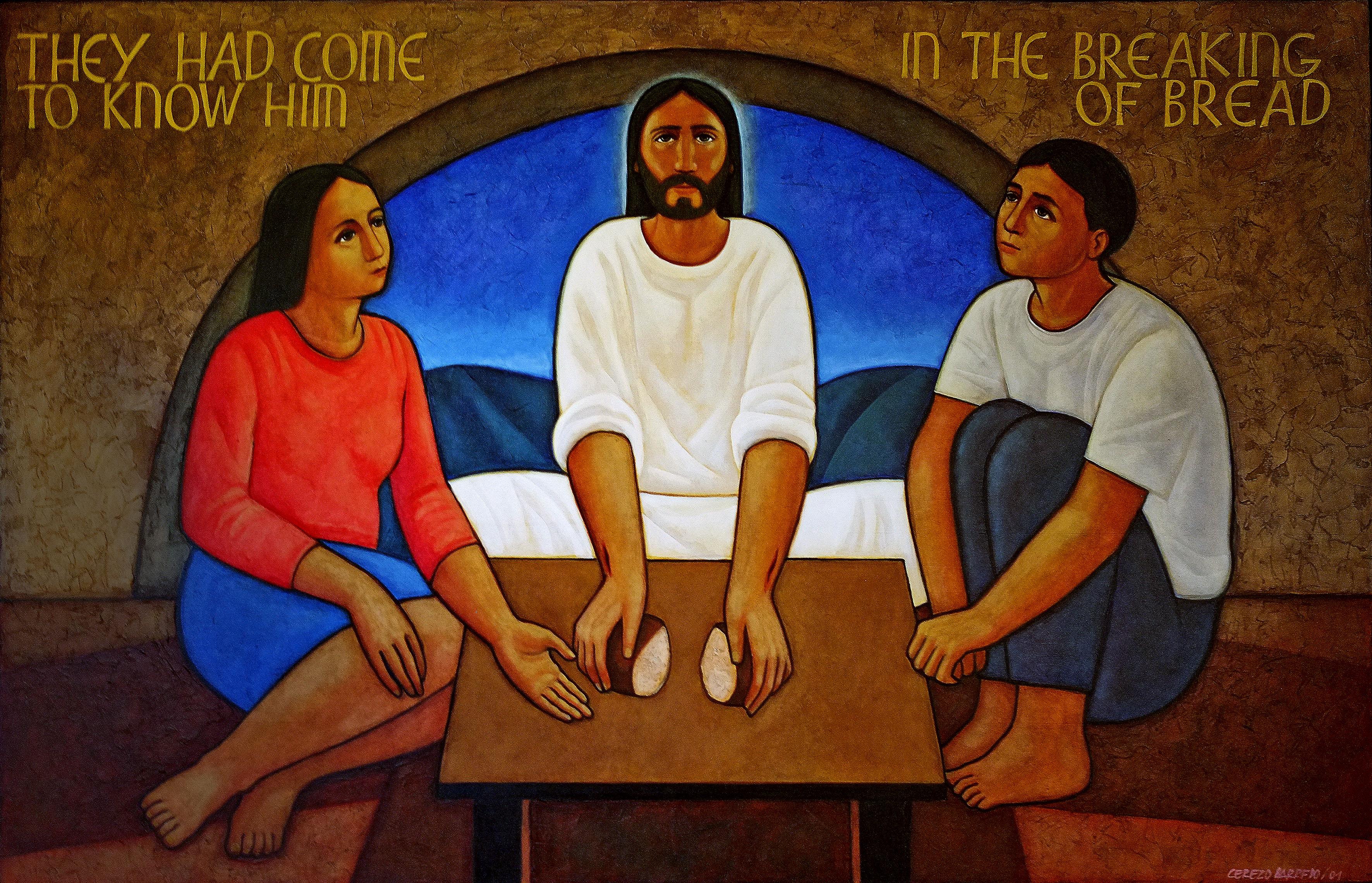 Cerezo Barredo, Maximino_In the Breaking of Bread