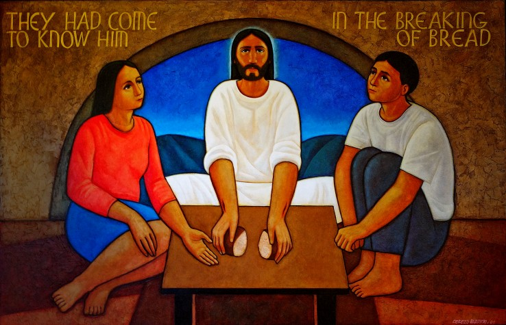 Cerezo Barredo, Maximino_In the Breaking of Bread