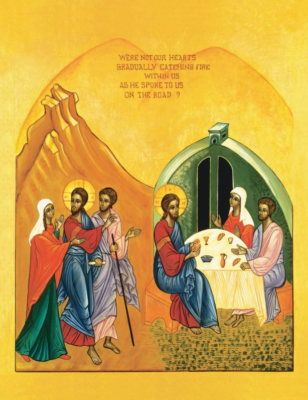 The Road to Emmaus by Sr. Marie-Paul Farran