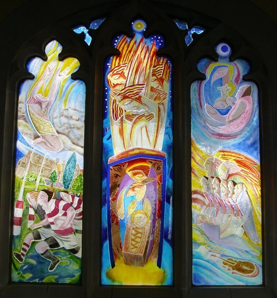 Michaelmas Term Window by Nicholas Mynheer