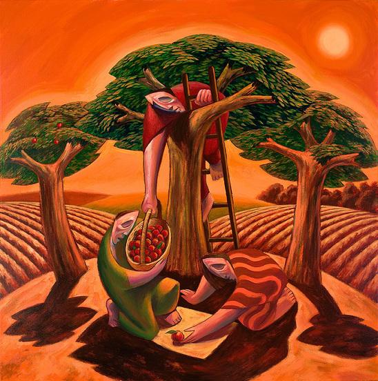 Harvest by Nicholas Mynheer