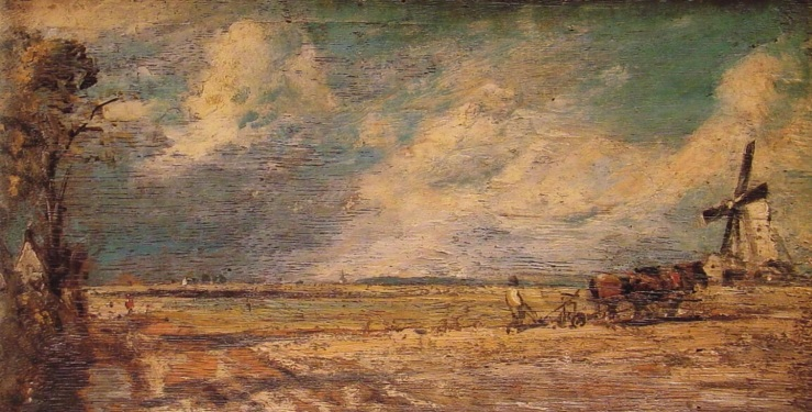 Spring Ploughing by John Constable