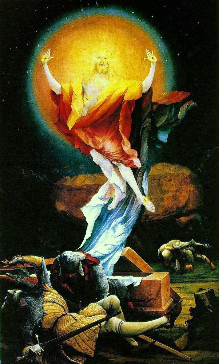 Resurrection by Matthias Grunewald