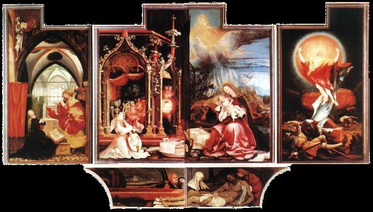 Isenheim Altarpiece by Matthais Grunewald (open)