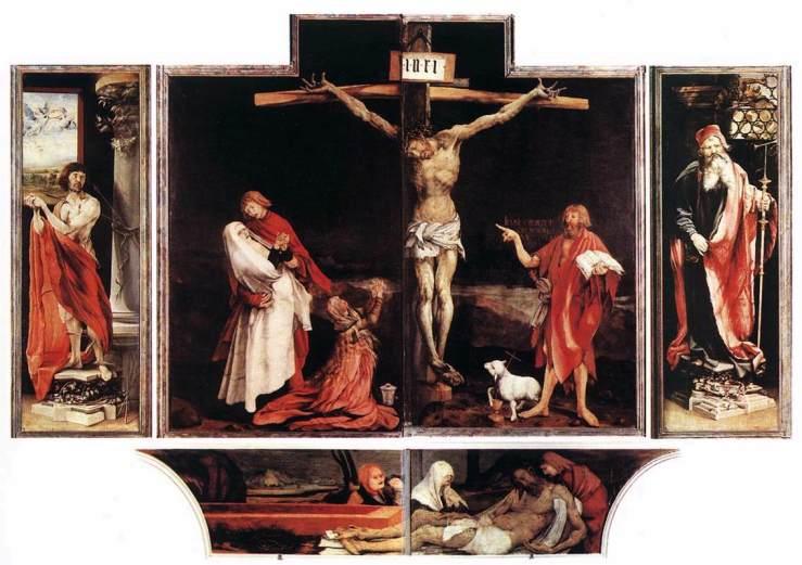 Isenheim Altarpiece by Matthais Grunewald